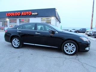 Used 2011 Lexus ES 350 Premium Pkg Sedan Leather Bluetooth Certified for sale in Milton, ON