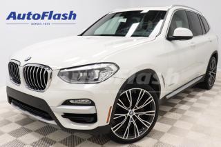 Used 2018 BMW X3 PREMIUM-ENHANCED *M-SPORT-PKG *HEADS-UP-DISPLAY for sale in Saint-Hubert, QC