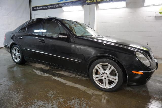 2006 Mercedes-Benz E-Class E350 LUXURY CERTIFIED 2YR WARRANTY SUNROOF HEATED LEATHER BLUETOOTH CRUISE