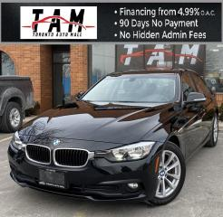 Used 2016 BMW 3 Series 320i xDrive NAVI Back-Up Camera Leather Parking Distance Aid for sale in North York, ON