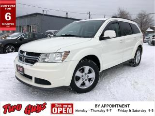 Used 2011 Dodge Journey SXT | Canada Value Package | Local Trade | 5 Pass| for sale in St Catharines, ON