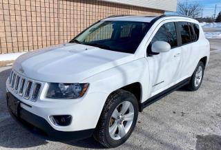 Used 2016 Jeep Compass High Altitude 4x4 | Leather | Sunroof | for sale in Barrie, ON