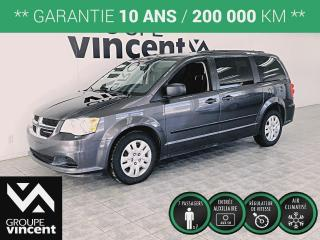 Used 2017 Dodge Grand Caravan Canada Value Package ** GARANTIE 10 ANS ** De l'espace, du confort, et une réputation hors pair! for sale in Shawinigan, QC
