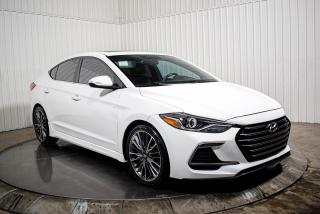 Used 2017 Hyundai Elantra SPORT TURBO CUIR TOIT OUVRANT MAGS CAMÉRA DE RECUL for sale in St-Hubert, QC