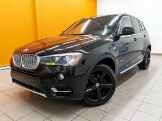 Used 2017 BMW X3 XDRIVE28I CUIR *PREMIUM PKG* TOIT PANO *NAV* PROMO for sale in St-Jérôme, QC