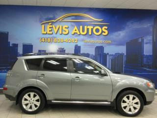 Used 2013 Mitsubishi Outlander XLS GT AWD V-6 7 PASSAGERS GPS CUIR TOIT for sale in Lévis, QC