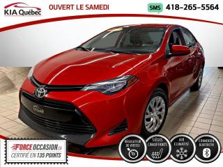 Used 2017 Toyota Corolla LE* AT* CAMERA* SIEGES CHAUFFANTS* for sale in Québec, QC