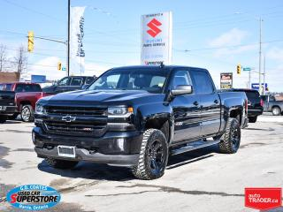 Used 2017 Chevrolet Silverado 1500 LTZ Z71 Crew Cab 4x4 ~Heated Leather ~Roof ~Camera for sale in Barrie, ON