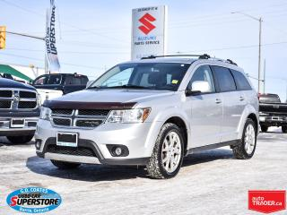 Used 2012 Dodge Journey Crew ~3.6L V6 ~Heated Seats ~Power Seat ~Moonroof for sale in Barrie, ON