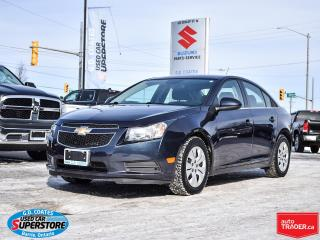 Used 2014 Chevrolet Cruze LT ~Backup Camera ~Bluetooth ~ONLY 71,000 KM! for sale in Barrie, ON