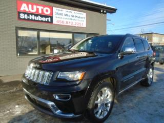 Used 2014 Jeep Grand Cherokee Summit DIESEL for sale in St-Hubert, QC