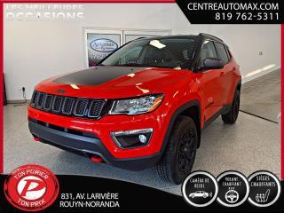 Used 2019 Jeep Compass Trailhawk ( frais vip 395$ non inclus) for sale in Rouyn-Noranda, QC