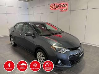 Used 2016 Toyota Corolla S - Manuelle - Sièges chauffants for sale in Québec, QC