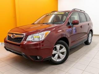 Used 2016 Subaru Forester AWD TOURING CAMÉRA SIÈGES CHAUFF *TOIT OUVRANT* for sale in Mirabel, QC
