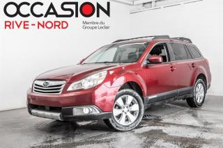 Used 2011 Subaru Outback Sport-4 cylindres 4x4 Garantie 1 AN for sale in Boisbriand, QC