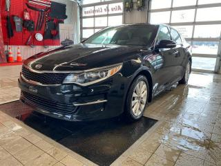 Used 2016 Kia Optima *LX+*CAMÉRA*CRUISE*SIÈGES CHAUFF*AIR* for sale in Québec, QC