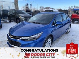 Used 2016 Chevrolet Cruze LT | Cloth | SRoof | Htd Seats | B/U Cam for sale in Saskatoon, SK