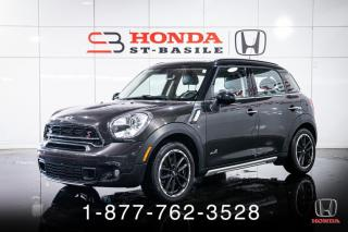 Used 2016 MINI Cooper Countryman S + ALL4 + CUIR + TOIT + MANUEL + WOW! for sale in St-Basile-le-Grand, QC