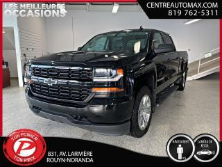 Used 2018 Chevrolet Silverado 1500 Custom ( frais vip 395$ non inclus) for sale in Rouyn-Noranda, QC