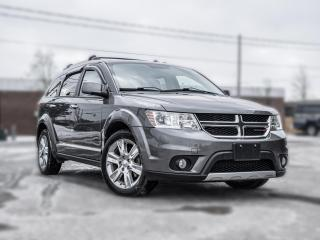 Used 2012 Dodge Journey R/T I AWD|7 PASS | NAV |ROOF | DVD | LEATHER| LOADED for sale in Toronto, ON