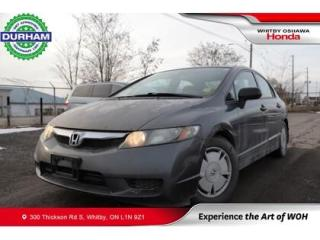 Used 2010 Honda Civic 4dr Man DX-G for sale in Whitby, ON