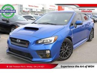 Used 2017 Subaru WRX 4dr Sdn STI Man for sale in Whitby, ON