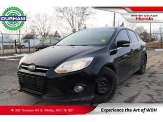 Used 2012 Ford Focus 4DR SDN SEL for sale in Whitby, ON