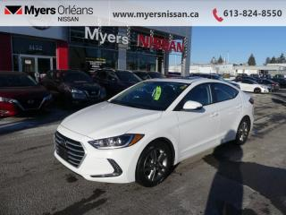 Used 2018 Hyundai Elantra GLS Auto  - Heated Seats - $113 B/W for sale in Orleans, ON