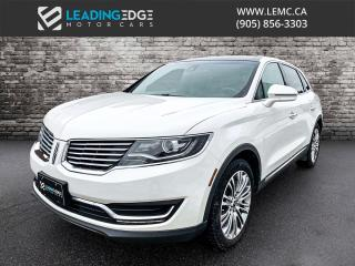 Used 2017 Lincoln MKX Reserve Navigation, Heated and Cooled Seats, Sunroof for sale in King, ON