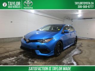 Used 2017 Toyota Corolla IM for sale in Regina, SK