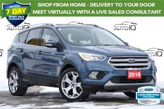 Used 2018 Ford Escape Titanium LEATHER   MOONROOF   NAVIGATION for sale in Kitchener, ON