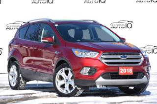 Used 2018 Ford Escape Titanium 400A   4WD   MOONROOF   LOW KM'S for sale in Kitchener, ON