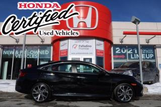 Used 2019 Honda Civic Sedan - HONDA CERTIFIED - FULLY LOADED - RATES STARTING AT 3.69% OAC for sale in Sudbury, ON