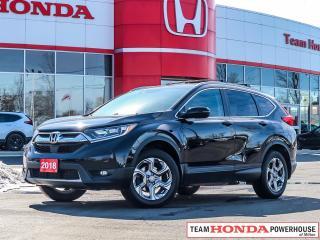 Used 2018 Honda CR-V EX--1 Owner--No Accidents--Remote Starter--Backup Camera for sale in Milton, ON
