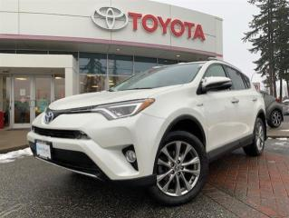 Used 2016 Toyota RAV4 Hybrid Limited for sale in Surrey, BC