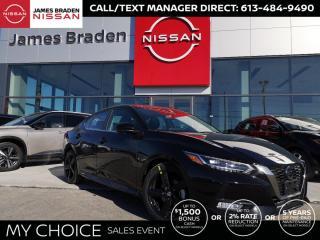 New 2021 Nissan Sentra SR PREMIUM SR for sale in Kingston, ON