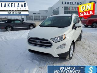Used 2019 Ford EcoSport SE FWD  - $169 B/W - Low Mileage for sale in Prince Albert, SK