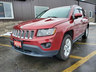 Used 2014 Jeep Compass NORTH-4x4-GOOD KM FOR YEAR-CLEAN for sale in Tilbury, ON