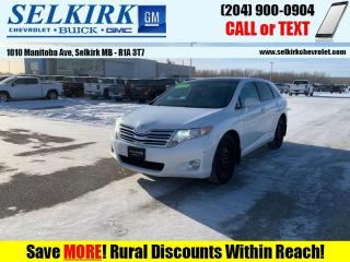 Used 2012 Toyota Venza V6 AWD  *W/WINTER TIRES* for sale in Selkirk, MB