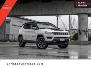Used 2020 Jeep Compass Trailhawk  4x4/ Hitch/ Leather/ Backup/ Nav/ Power Lift for sale in Surrey, BC