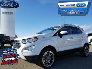 New 2020 Ford EcoSport Titanium 4WD  - $217 B/W for sale in Fort St John, BC