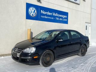 Used 2010 Volkswagen Jetta Sedan WOLFSBURG EDITION M/T - HTD SEATS / SUNROOF / WINTERS! for sale in Edmonton, AB