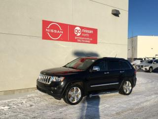 Used 2013 Jeep Grand Cherokee Overland / 4WD / Leather / Heated Seats / Cooled Seats / Nav for sale in Edmonton, AB