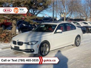 Used 2016 BMW 3 Series 320I XDRIVE; SUNROOF, AWD, HEATED SEATS, LEATHER, BACKUP CAMERA, BUTTON START, BLUETOOTH for sale in Edmonton, AB