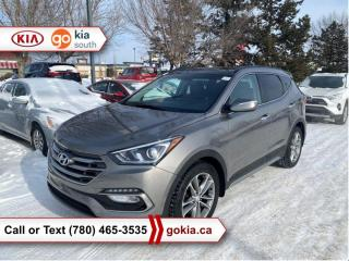 Used 2017 Hyundai Santa Fe Sport SE; PANORAMIC SUNROOF, AWD, HEATED SEATS/WHEEL, BACKUP CAMERA, BLIND SPOT, BUTTON START, BLUETOOTH for sale in Edmonton, AB