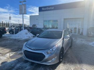 Used 2013 Hyundai Sonata Hybrid 2SETSOFTIRES/HYBRID/PUSHBUTTON/BACKUPCAM/HEATEDSEATS for sale in Edmonton, AB