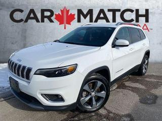 Used 2019 Jeep Cherokee LIMITED / LEATHER / 61,175 KM for sale in Cambridge, ON