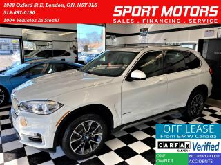 Used 2017 BMW X5 xDrive35i TECH+HUD+BMW Warranty+ACCIDENT FREE for sale in London, ON