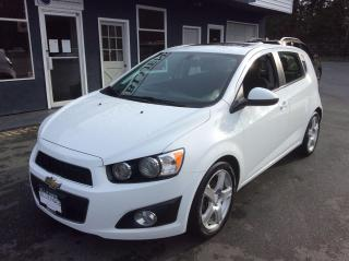 Used 2016 Chevrolet Sonic LT for sale in Parksville, BC