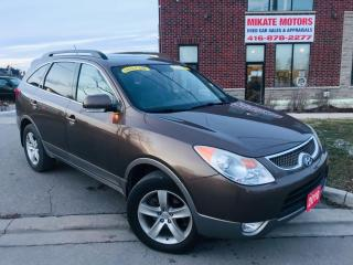 Used 2010 Hyundai Veracruz 7 PASSENGER GLS for sale in Rexdale, ON